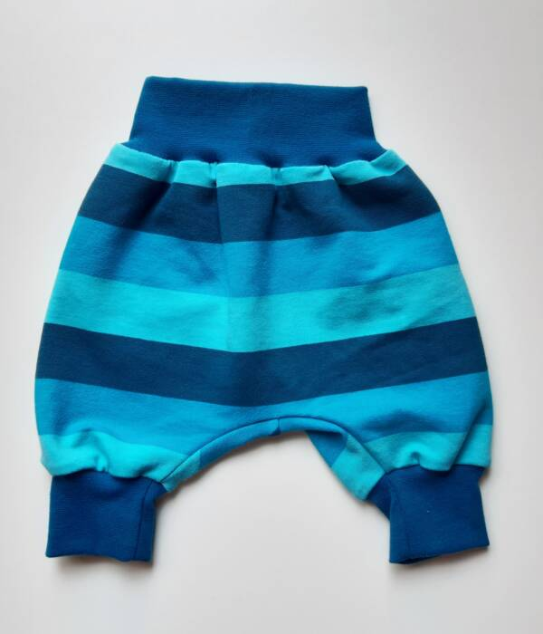 Pumphose_Streifen blau