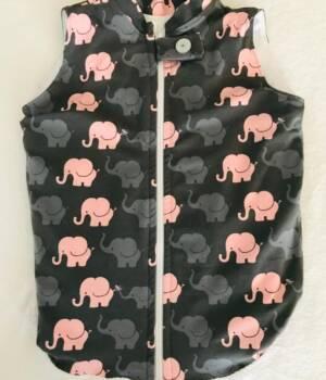 Elefant creme-weiss